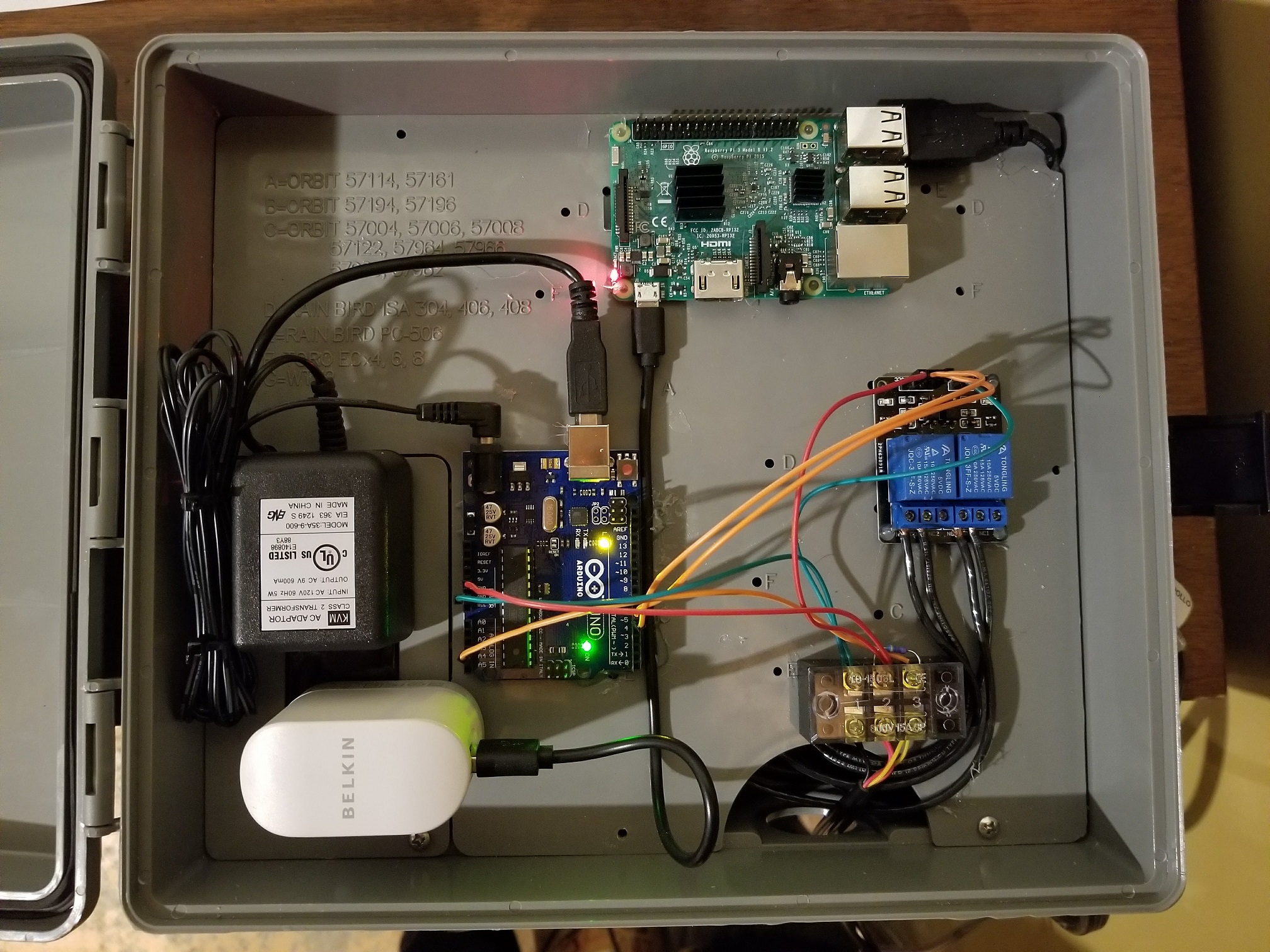 Dotps1 Brewing Your Own Brewpi On Stc 1000 Wiring I Wired My Device According To This Diagram Here Is The Finished Product Case